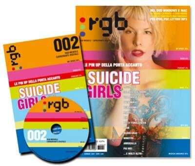 RGB magazine, rivista multimediale