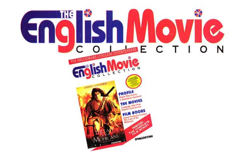English Movie Collection - logo, immagine coordinata