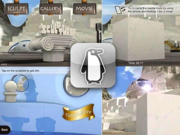 Sculpture, gioco iPhone