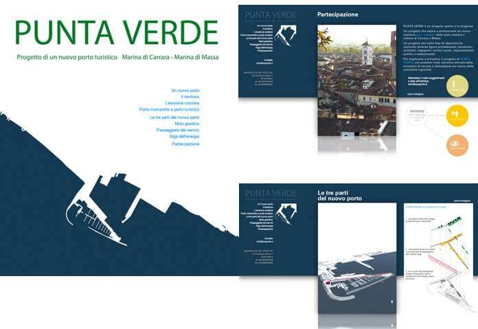 Punta Verde. Ecoporto, Carrara (sito internet)