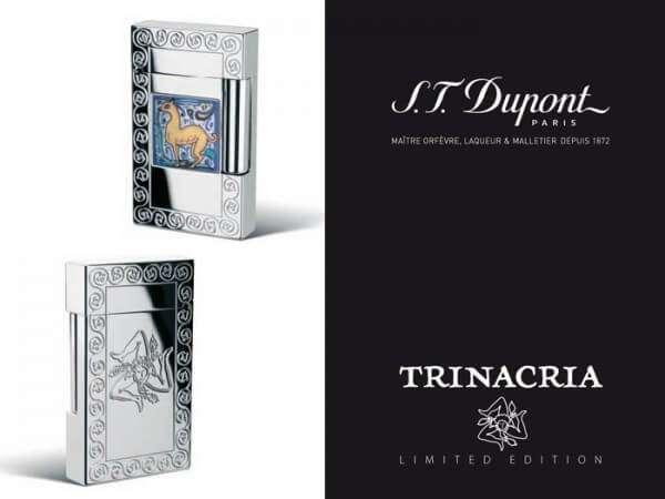 S.T. Dupont - Trinacria, immagine coordinata
