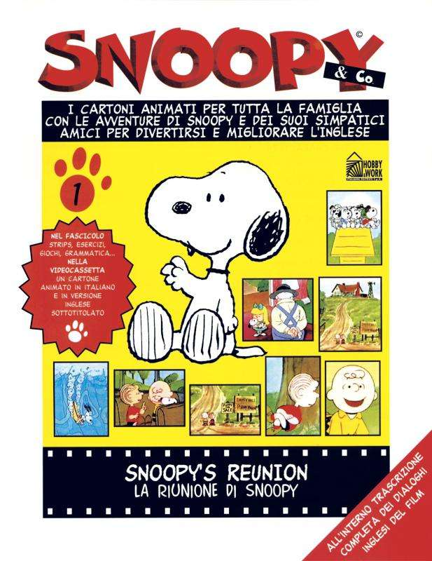 Snoopy, Hobby and Work